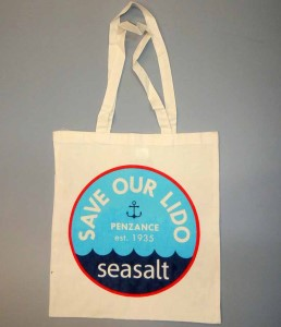 Save Penzance Lido bag
