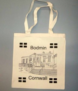 Bodmin printed bag