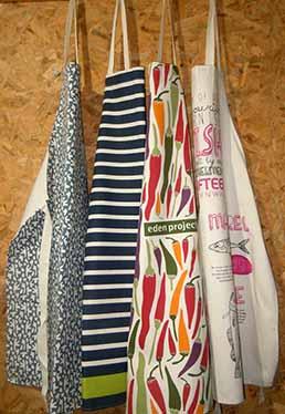 Bespoke apron design